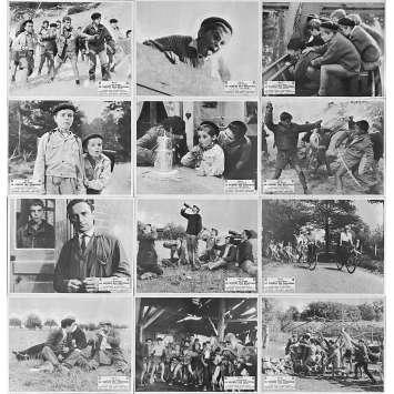 LA GUERRE DES BOUTONS Photos de film x24 - 24x30 cm. - 1962 - Jacques Dufilho, Yves Robert