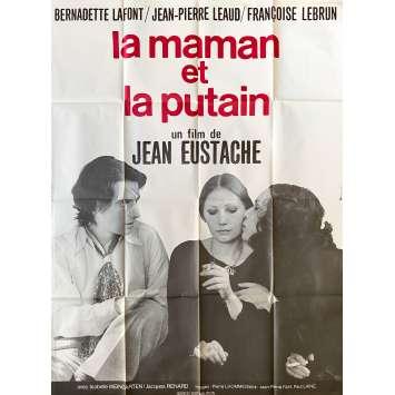 LA MAMAN ET LA PUTAIN Affiche de film- 120x160 cm. - 1973 - Jean-Pierre Léaud, Jean Eustache