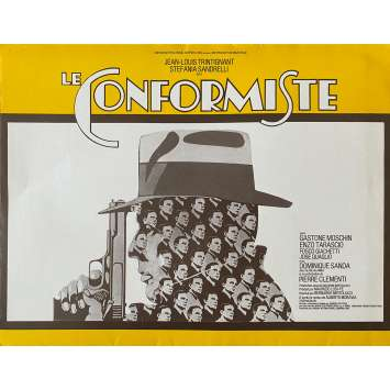 THE CONFORMIST Original Herald- 10x12 in. - 1970 - Bernardo Bertolucci, Jean-louis Trintignant