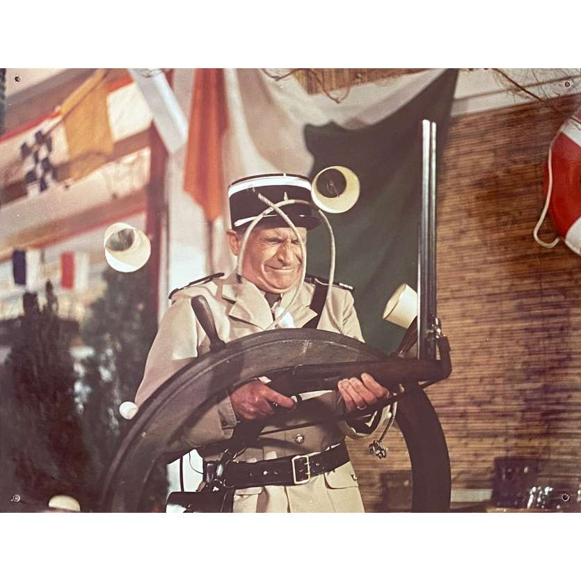 LE GENDARME EN BALADE Photo de presse N03 - 30x40 cm. - 1970 - Louis de Funès, Jean Girault