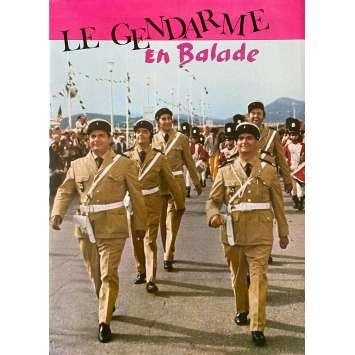LE GENDARME EN BALADE Original Herald 6p - 10x12 in. - 1970 - Jean Girault, Louis de Funès