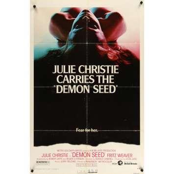 DEMON SEED US 1sh Movie Poster- 1977 - Julie Christie