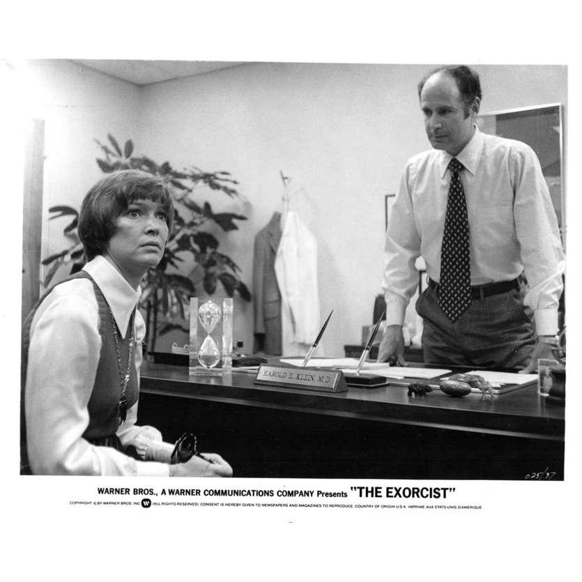 L'EXORCISTE Photo de presse N3 20x25 - 1974 - Max Von Sidow, William Friedkin