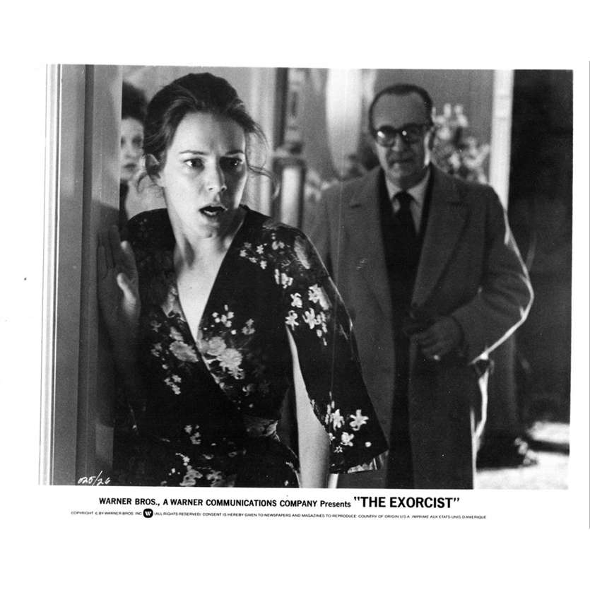 L'EXORCISTE Photo de presse N4 20x25 - 1974 - Max Von Sidow, William Friedkin