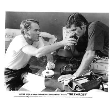 L'EXORCISTE Photo de presse N9 20x25 - 1974 - Max Von Sidow, William Friedkin