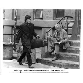 L'EXORCISTE Photo de presse N11 20x25 - 1974 - Max Von Sidow, William Friedkin
