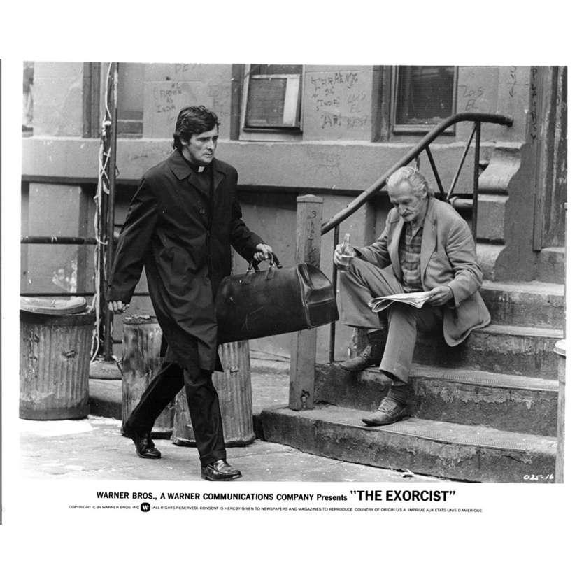 THE EXORCIST US Still 11 8x10 - 1974 - William Friedkin, Max Von Sidow