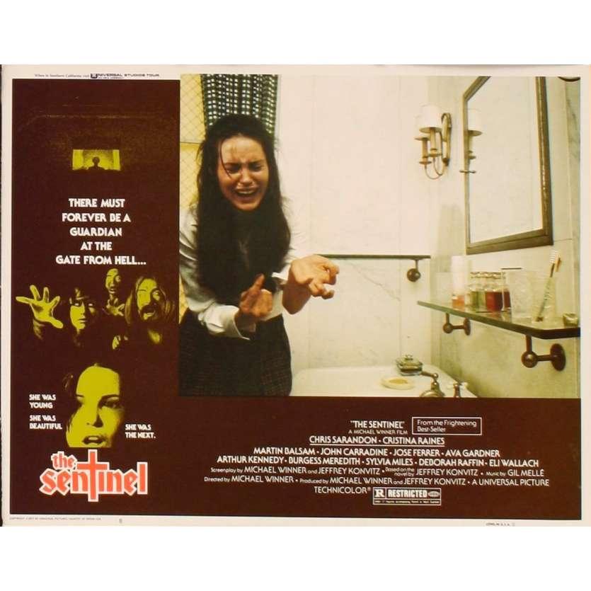 SENTINEL US Lobby Card 8 11x14 - 1977 - Michael Winner, Susan Sarandon