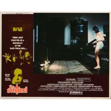 SENTINEL US Lobby Card 5 11x14 - 1977 - Michael Winner, Susan Sarandon