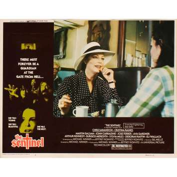 SENTINEL US Lobby Card 4 11x14 - 1977 - Michael Winner, Susan Sarandon