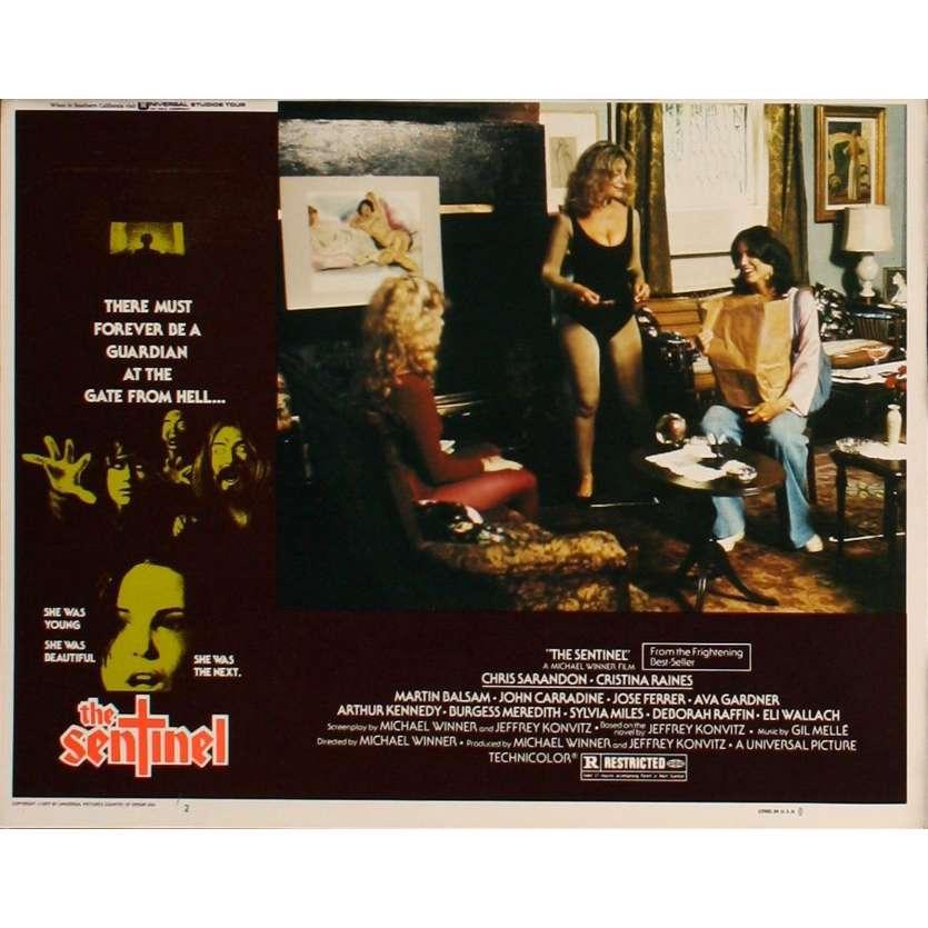 SENTINEL US Lobby Card 3 11x14 - 1977 - Michael Winner, Susan Sarandon
