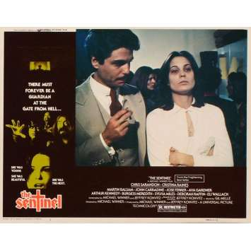 SENTINEL US Lobby Card 2 11x14 - 1977 - Michael Winner, Susan Sarandon
