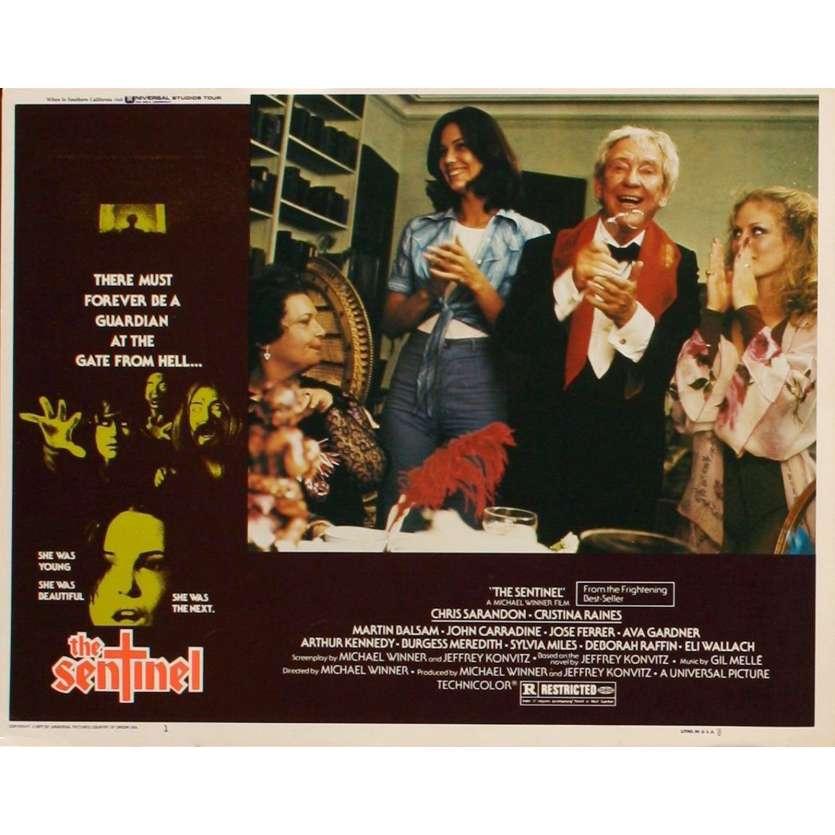SENTINEL US Lobby Card 1 11x14 - 1977 - Michael Winner, Susan Sarandon