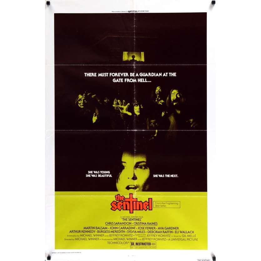 LA SENTINELLE DES MAUDITS Affiche de film69x104 - 1977 - Cristina Raines, Michael Winner