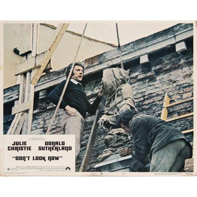NE VOUS RETOURNEZ PAS Photo de film 2 28x36 - 1974 - Donald Sutherland, Nicholas Roeg
