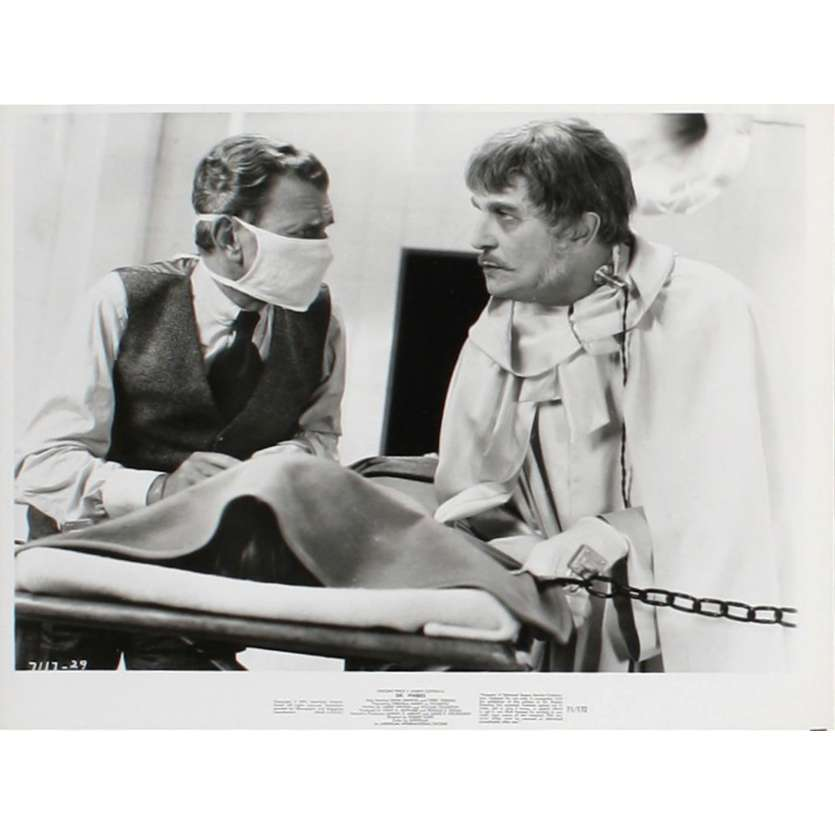 L'ABOMINABLE DR PHIBES Photo de film N3 20x25 - 1971 - Vincent Price, Robert Fuest