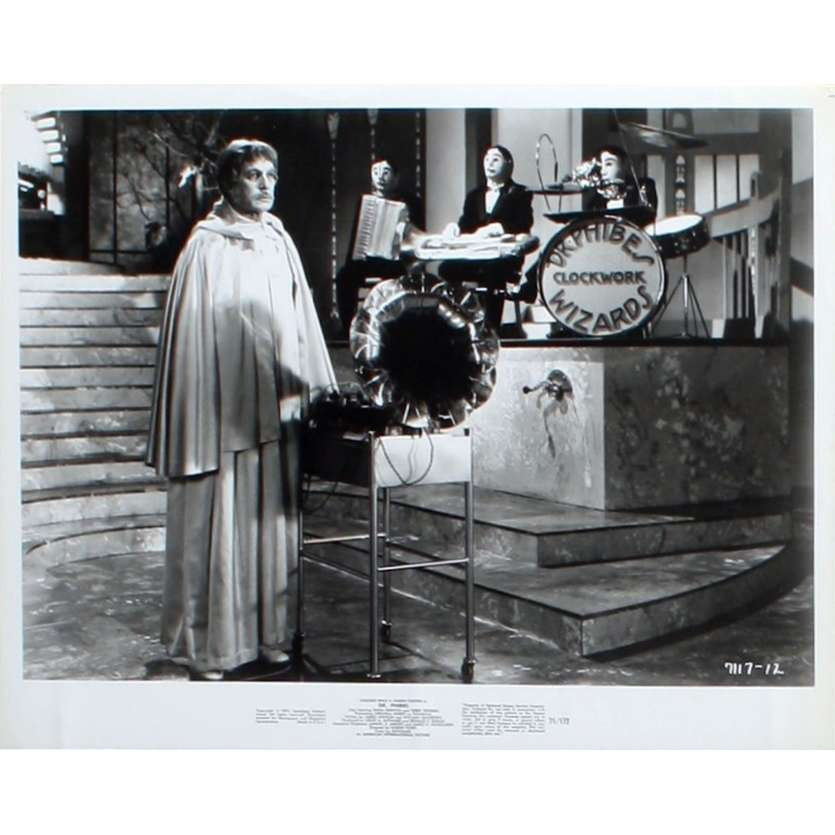 L'ABOMINABLE DR PHIBES Photo de film N1 20x25 - 1971 - Vincent Price, Robert Fuest