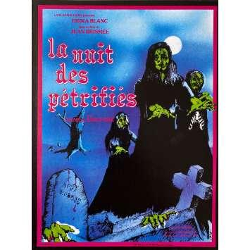 THE DEVIL'S NIGHMARE Original Herald 4p - 9x12 in. - 1971 - Jean Brismée, Erika Blanc