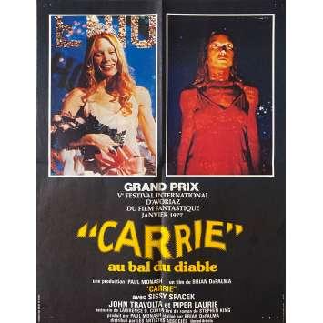 CARRIE Affiche de film- 40x60 cm. - 1976 - Sissy Spacek, Brian de Palma