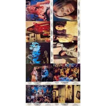 CARRIE Photos de film x10 - 21x30 cm. - 1976 - Sissy Spacek, Brian de Palma