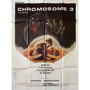 THE BROOD Original Movie Poster- 47x63 in. - 1979 - David Cronenberg, Samantha Eggar