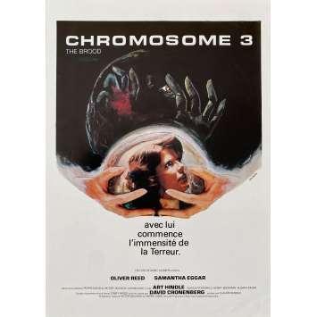 THE BROOD Original Herald- 9x12 in. - 1979 - David Cronenberg, Samantha Eggar