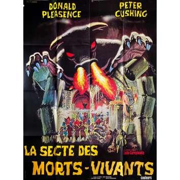 LA SECTE DES MORT VIVANTS Affiche de film- 120x160 cm. - 1971 - Donald Pleasence, Peter Cushing, Kostas Karagiannis