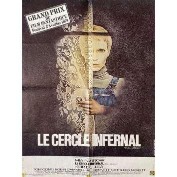 LE CERCLE INFERNAL (77) Affiche de film- 60x80 cm. - 1977 - Mia Farrow, Richard Loncraine