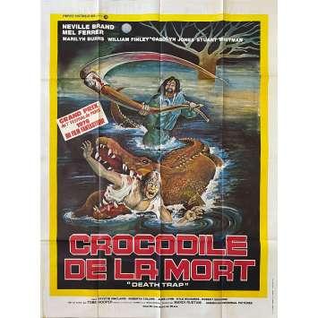 LE CROCODILE DE LA MORT Affiche de film- 120x160 cm. - 1976 - Neville Brand, Tobe Hooper