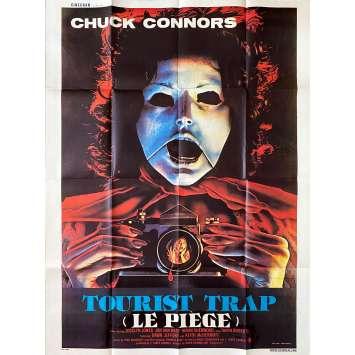 TOURIST TRAP Original Movie Poster- 47x63 in. - 1979 - David Schmoeller, Chuck Connors