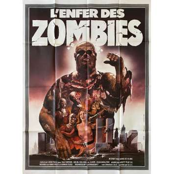ZOMBIE Original Movie Poster- 47x63 in. - 1979 - Lucio Fulci, Tisa Farrow