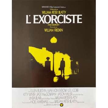 THE EXORCIST Original Herald- 9x12 in. - 1974 - William Friedkin, Max Von Sidow