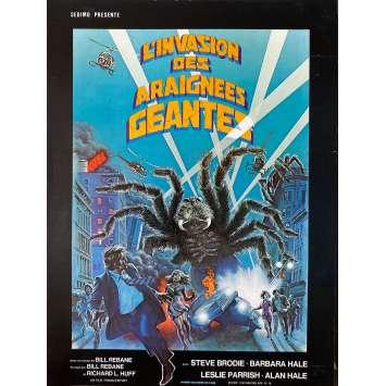 THE GIANT SPIDER INVASION Original Herald 2p - 9x12 in. - 1975 - Bill Rebane, Steve Brodie