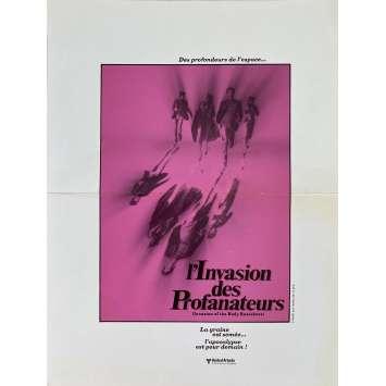 INVASION OF THE BODY SNATCHERS Original Herald- 9x12 in. - 1978 - Philip Kaufman, Donald Sutherland