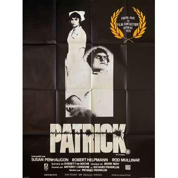 PATRICK Affiche de film- 120x160 cm. - 1978 - Robert Helpmann, Richard Franklin