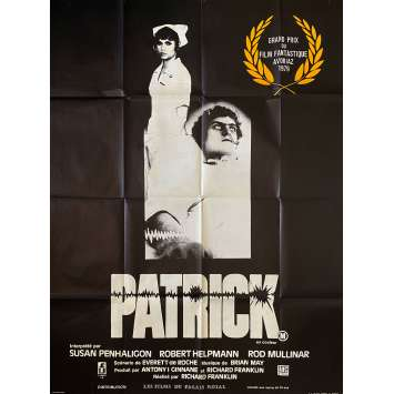 PATRICK / COMA Original Movie Poster- 47x63 in. - 1978 - Richard Franklin, Robert Helpmann