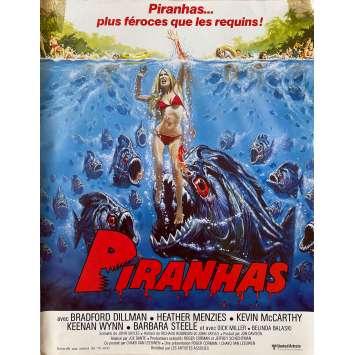 PIRANHAS Synopsis- 21x30 cm. - 1978 - Barbara Steele, Joe Dante