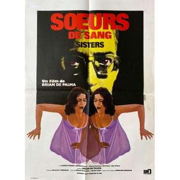 SOEURS DE SANG Affiche de film- 40x60 cm. - 1970 - Margot Kidder, Brian de Palma