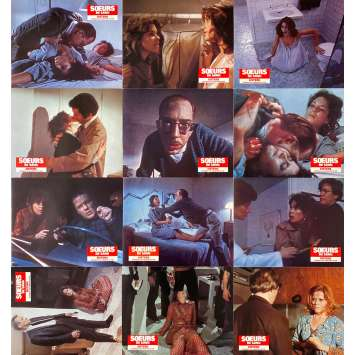 SOEURS DE SANG Photos de film x12 - 21x30 cm. - 1970 - Margot Kidder, Brian de Palma