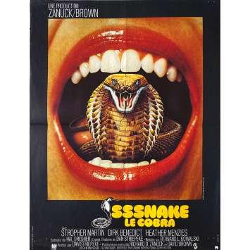 SSSSNAKE LE COBRA Affiche de film- 40x60 cm. - 1973 - Dirk Benedict, Bernard L. Kowalski