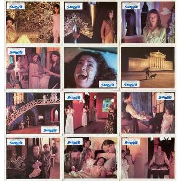 SUSPIRIA Photos de film x12 - 21x30 cm. - 1977 - Jessica Harper, Dario Argento