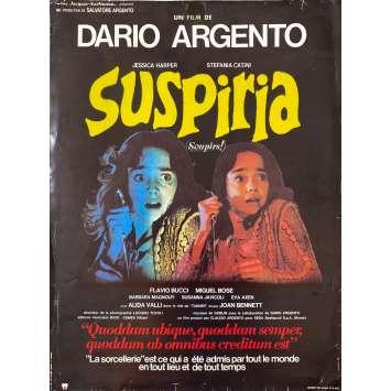 SUSPIRIA Original Herald- 12x15 in. - 1977 - Dario Argento, Jessica Harper