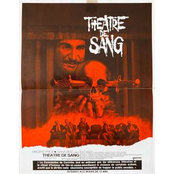 THEATER OF BLOOD Original Herald- 9x12 in. - 1973 - Douglas Hickox, Vincent Price