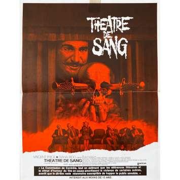 THEATRE DE SANG Synopsis- 21x30 cm. - 1973 - Vincent Price, Douglas Hickox