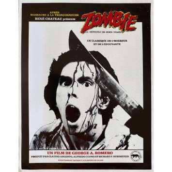 ZOMBIE Synopsis- 21x30 cm. - 1979 - Tom Savini, George A. Romero
