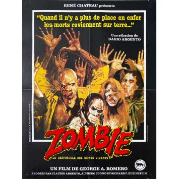 ZOMBIE Affiche de film- 40x60 cm. - 1979 - Tom Savini, George A. Romero