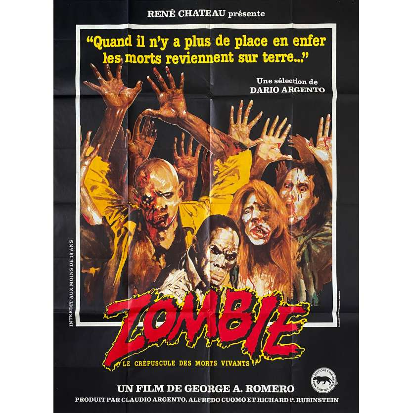 DAWN OF THE DEAD Movie Poster - 47x63 in. - 1979 - George A. Romero, Tom Savini