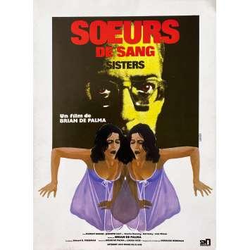 SOEURS DE SANG Synopsis- 21x30 cm. - 1970 - Margot Kidder, Brian de Palma