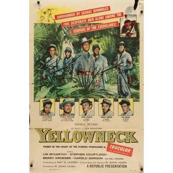 YELLOWNECK Affiche de film 69x104- 1955 -Lin McCarty