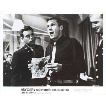 L'HOMME QUI AIMAIT LA GUERRE Photo de presse 20x25 - US 1962 - Steve McQueen, Robert Wagner